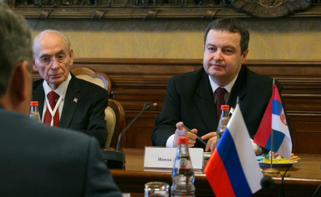 МИД Сербии: ДавлениеЕС повопросу антироссийских санкций неприемлемо