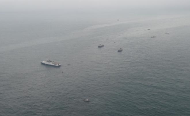 Все основные части разбившегося Ту-154 подняты содна Черного моря