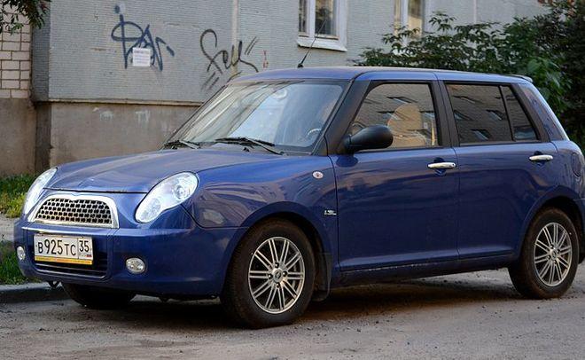 Лифан Smily— лидер рейтинга самых доступных авто в РФ