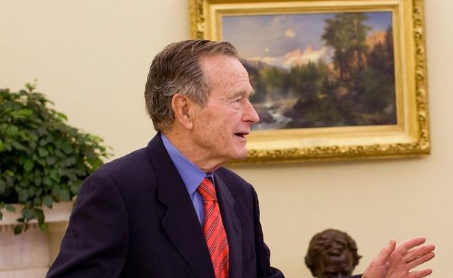 ВСША госпитализирован Джордж Буш-старший