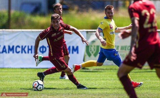 Рубин обыграл словенский Целе со счетом 2:0 в первом матче после возвращения Бердыева