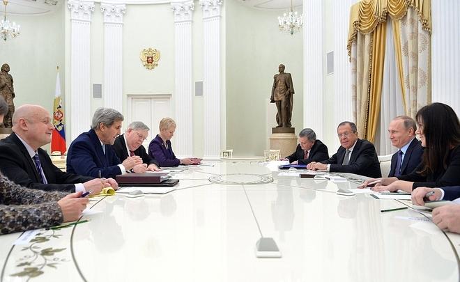 Уступки Керри поСирии приведут кснятию санкций с Российской Федерации