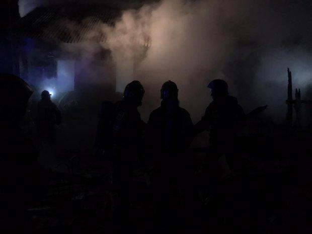 В Татарстане на пожаре погибла женщина