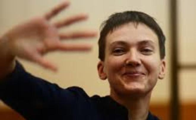 Савченко вэфире украинского канала сдала тест нанаркотики