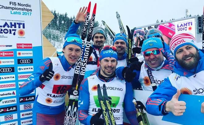 Русские лыжники заняли 3-е место вобщекомандном зачётеЧМ вЛахти
