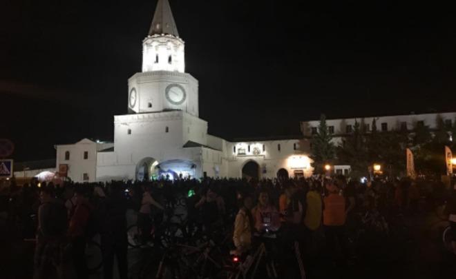 Размещен маршрут «Ночного велофеста» вгороде Казани
