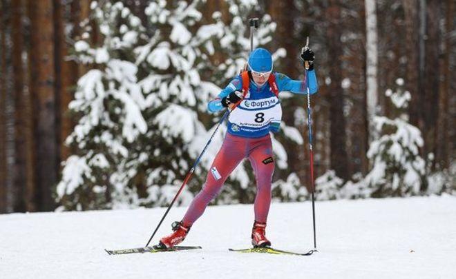 Анастасия Загоруйко выиграла спринт наэтапе Кубка IBU вОтепя