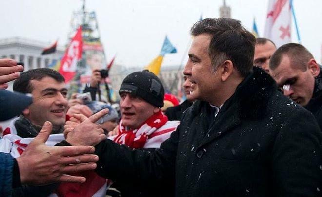 ВКиеве сторонники Саакашвили собираются намарш заимпичмент