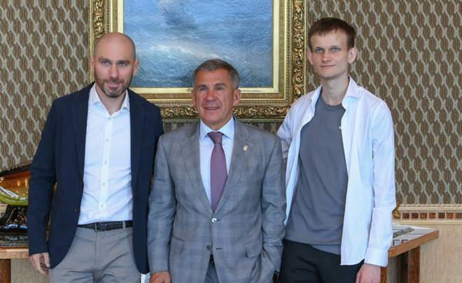 Президент РТ встретился с создателем криптовалюты Ethereum Виталиком Бутериным