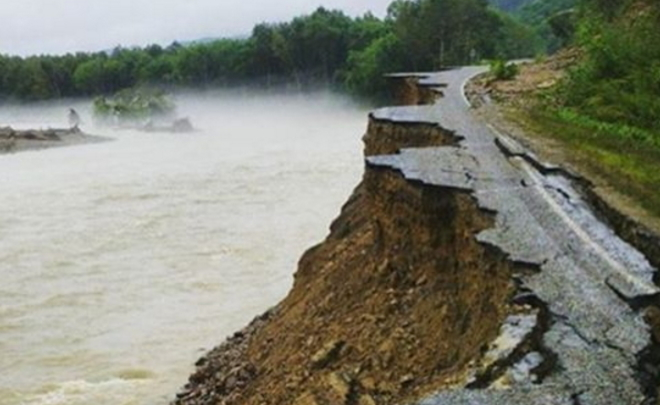 Засутки вПриморье паводком подтоплены еще 400 жилых домов