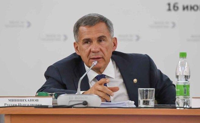 Рустам Минниханов раскритиковал работу уличных компаний вчасти ливневок