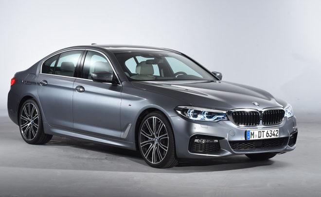 В продажу поступил новый BMW 5 Series российской сборки