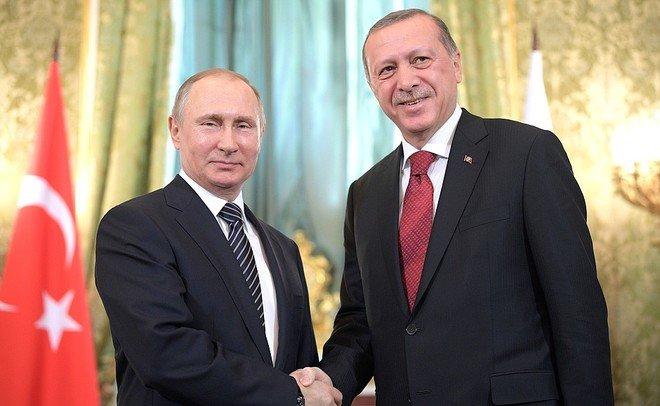 Путин иЭрдоган выразили обеспокоенность решением США поИерусалиму
