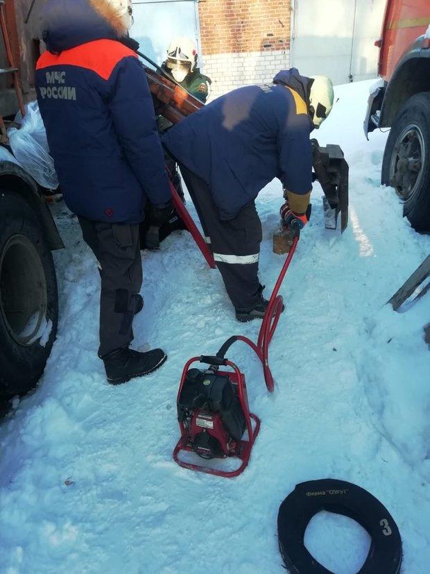 В Татарстане манипулятором мусоровоза придавило мужчину