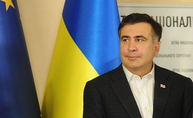 Саакашвили призвал кдосрочным парламентским выборам вгосударстве Украина