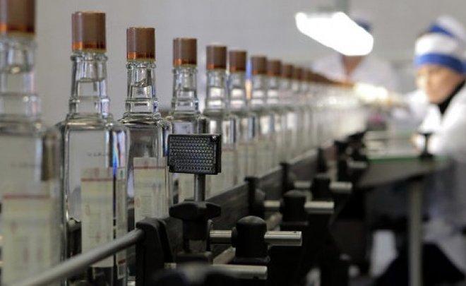 Производство водки в РФ выросло засемь месяцев на20%