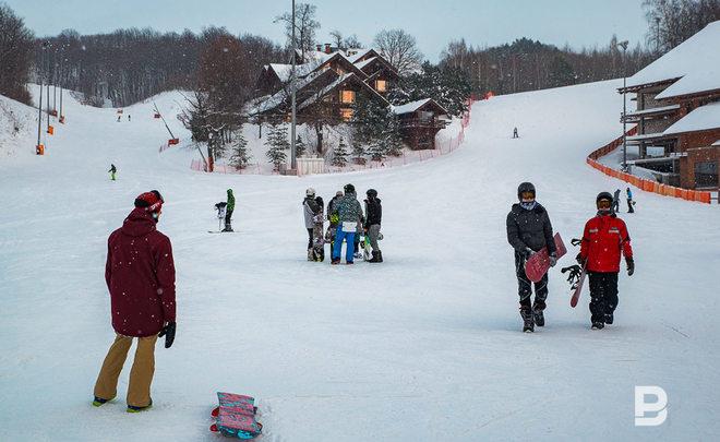 Столичная  область угодила  втройку наилучших  горнолыжных курортов Российской Федерации