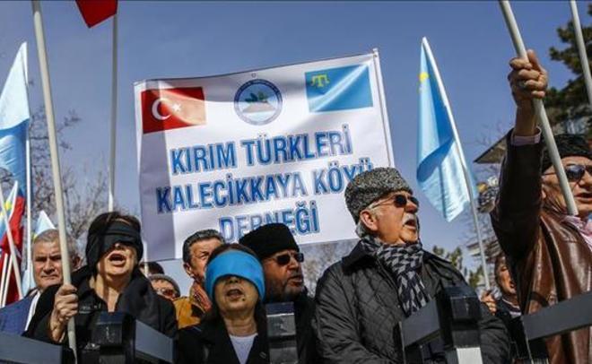 Социологи узнали отношение крымских татар кПутину