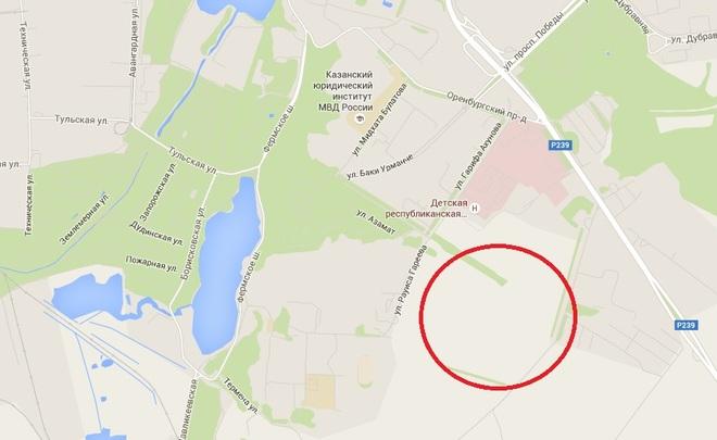 Исполком Казани назначил публичные слушания по вопросу строительства жилых домов на огромном участке за РКБ