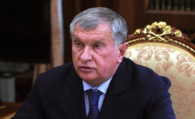 Сечин попросил В. Путина ольготах на145 млрд руб.