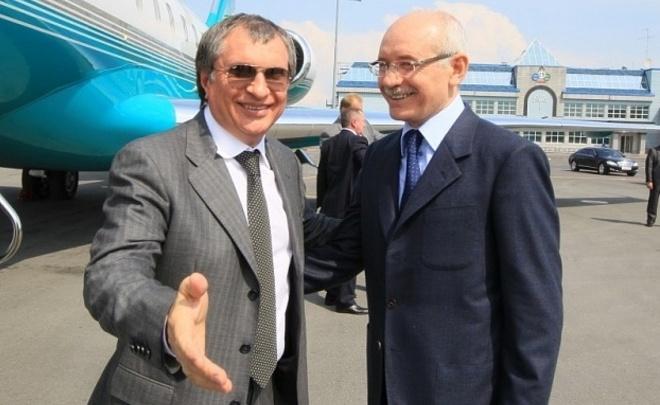 Руководитель  «Роснефти» и руководитель  Башкирии обсудили налоговую идивидендную политику «Башнефти»