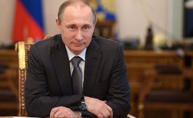 Рейтинг согласия работы Владимира Путина напосту президента поднялся до84%