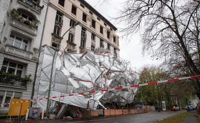 Ростуризм предупредил граждан России орежимеЧС вГермании иЧехии из-за урагана