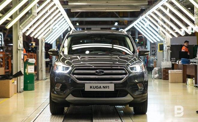 Форд Kuga стал лидером льготного кредитования