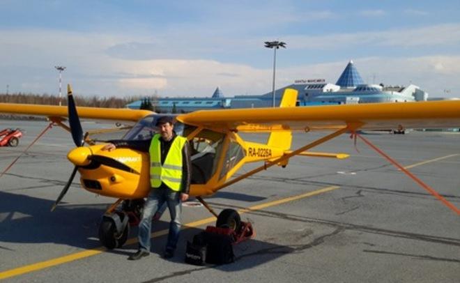 ВХМАО жесткую посадку совершил легкомоторный самолет