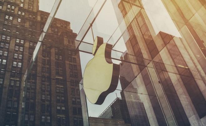 ВРФ прибыль Apple подросла в1,7 раза