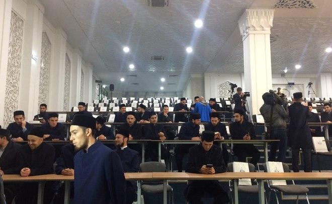Руководитель района Валерий Чершинцев учавствует воткрытии Болгарской исламской академии