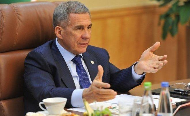 Минниханов прокомментировал ситуацию о уменьшении доходов вбюджете Татарстана