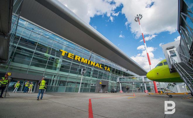 Казанский аэропорт обслужил в минувшем году практически два млн. пассажиров