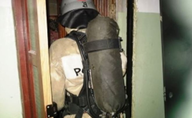 Впожаре вКазани эвакуированы 10 граждан дома, спасены двое мужчин
