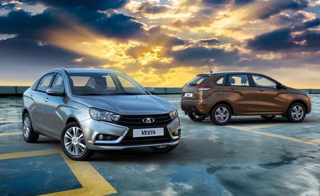 В России продажи автомобилей LADA выросли в октябре почти на 23
