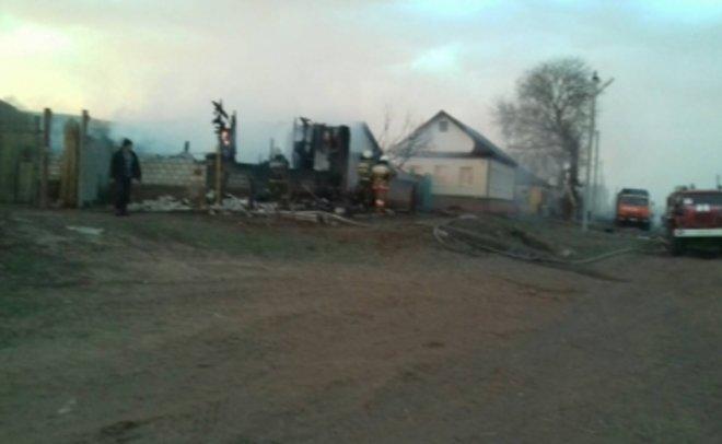 Пожару вселе Оренбургской области присвоен третий ранг трудности