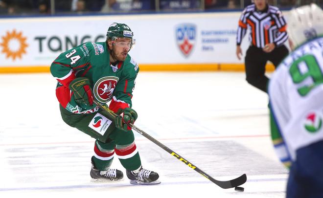 «АкБарс» обыграл «Северсталь» вматче чемпионата КХЛ