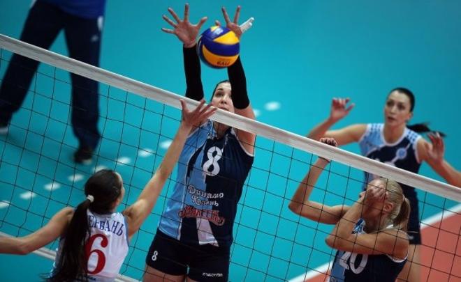 Волейболистки московского «Динамо» впервый раз завоевали «Суперкубок Российской Федерации