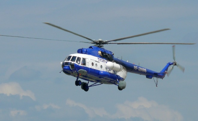 На далеком Востоке пропал срадаров летевший вПриморье вертолет Ми-8