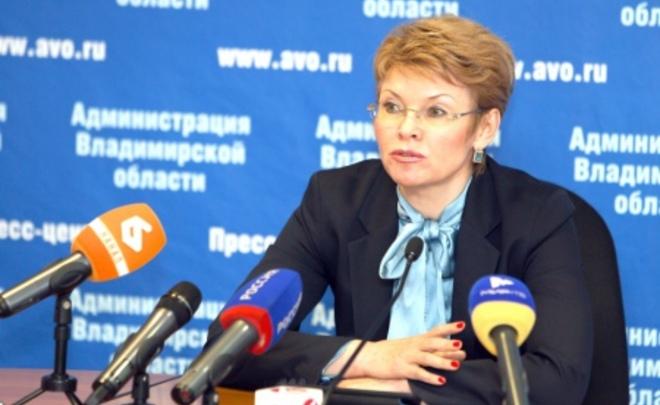 Вице-губернатор Владимирской области задержана поподозрению вполучении взятки