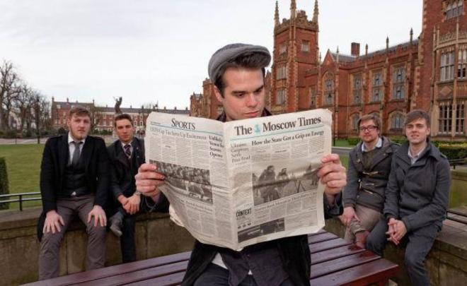 Газета The Moscow Times объявила о закрытии бумажной версии