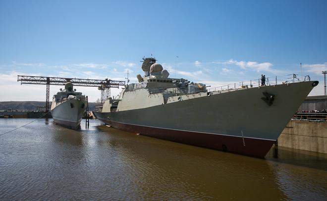 ВТатарстане спустят наводу четвертый фрегат для ВМФ Вьтнама