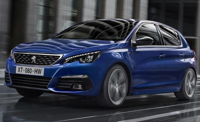 Peugeot (Пежо) показала улучшенный хэтчбек 308