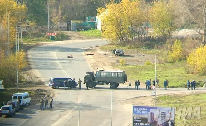 2-х предполагаемых террористов убили вНижнем Новгороде