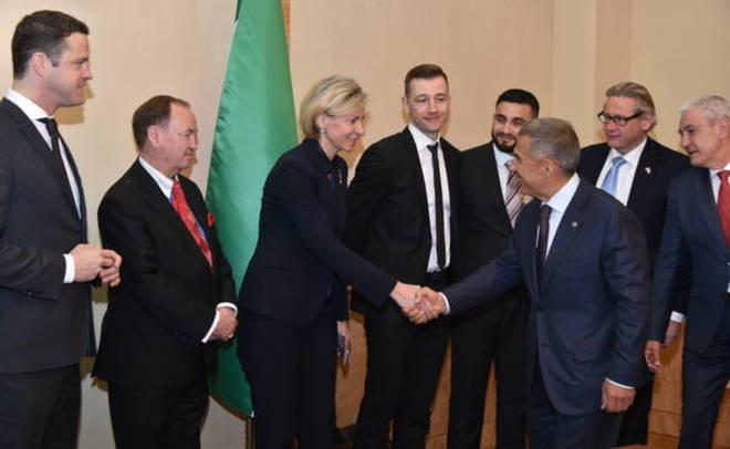 Минниханов обсудил варианты сотрудничества савстрийскими предпринимателями