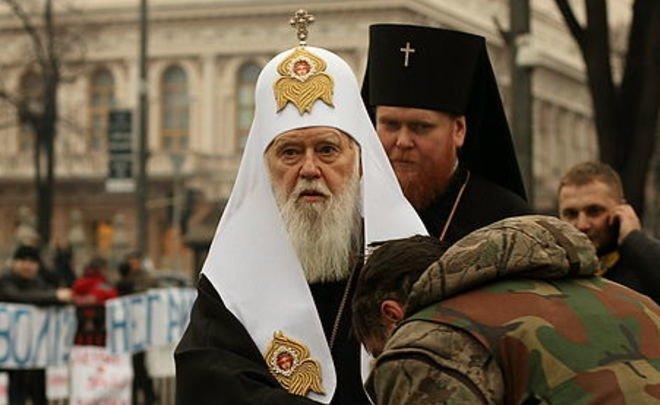 Филарет объявил оготовности увидеться спатриархом Кириллом