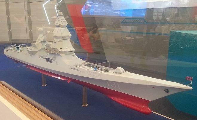 Стало известно остроительстве атомных эсминцев в Российской Федерации