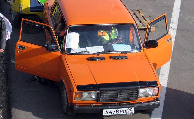 Легендарный седан Лада 2107 оказался наиболее популярным легковым автомобилем в Российской Федерации