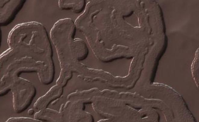 NASA показала самое холодное место на Марсе