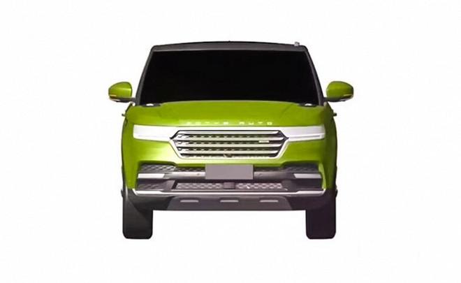 Китайская Zotye делает «клон» модели Range Rover Sport